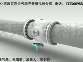 Pneumatic video clip pipe valve is introduced